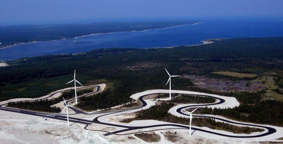 Gotland Ring race tracks