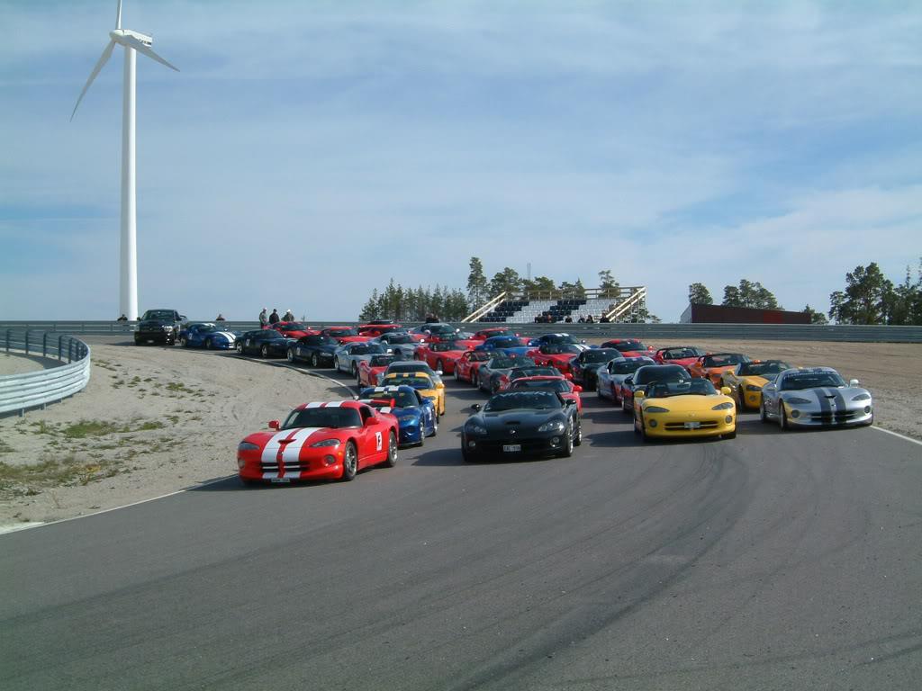 A car racing event
