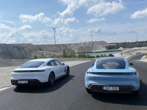Wind Driven RingTaxi (Porsche Taycan)